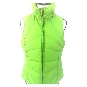 Kenneth Cole Reaction Green down filled vest med
